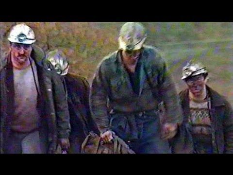 Tows Bank Colliery, Northumberland (nr Alston). Deutsche Welle TV, 1992