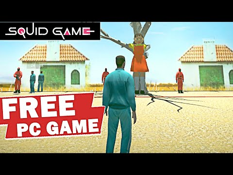 Squid Game PC GAME 😱 NEW FREE MULTIPLAYER GAME Green Light Red Light Game Play Now!! thumbnail