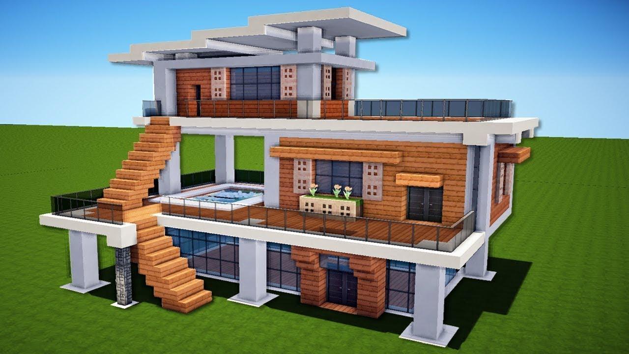 minecraft house tutorial - 900×506