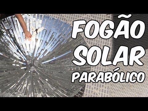 Veja o video – Fogão solar parabólico (experiência de Física)