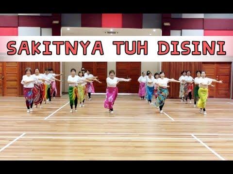 【Sakitnya Tuh Disini】 广场舞 @ 蓉蓉欢乐舞蹈班