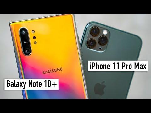 Сравнение IPhone 11 Pro Max и Galaxy Note 10+: камера, экран, дизайн и вот это всё...