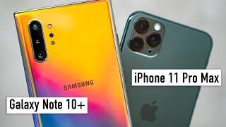 Download Сравнение iPhone 11 Pro Max и Galaxy Note 10+: камера, экран, дизайн и вот это всё... Mp3 and Videos
