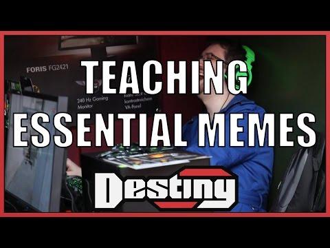 Teaching Erisann Essential Memes