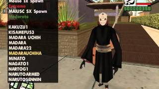 GTA San Andreas - WARulez - Naruto Skin Pack #2 + Download