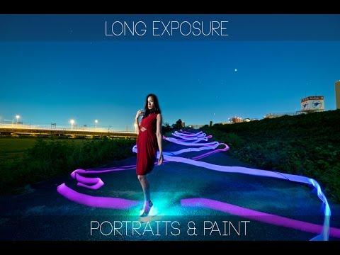 Strobist video: Long Exposure portraits & Light Painting Fujifilm X-T1 / 長時間露光で ポートレート & ライトペインティング