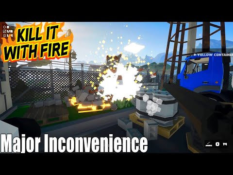 Kill It With Fire Walkthrough Gameplay - Major Inconvenience / PC |
