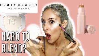 Fenty Beauty Review, Metal Moon, Match Stix, ProFilt'r, Fenty Glow  | Carly Musleh