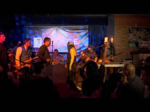 SUENALO @The Stage Miami Art Walk 1/14/2012