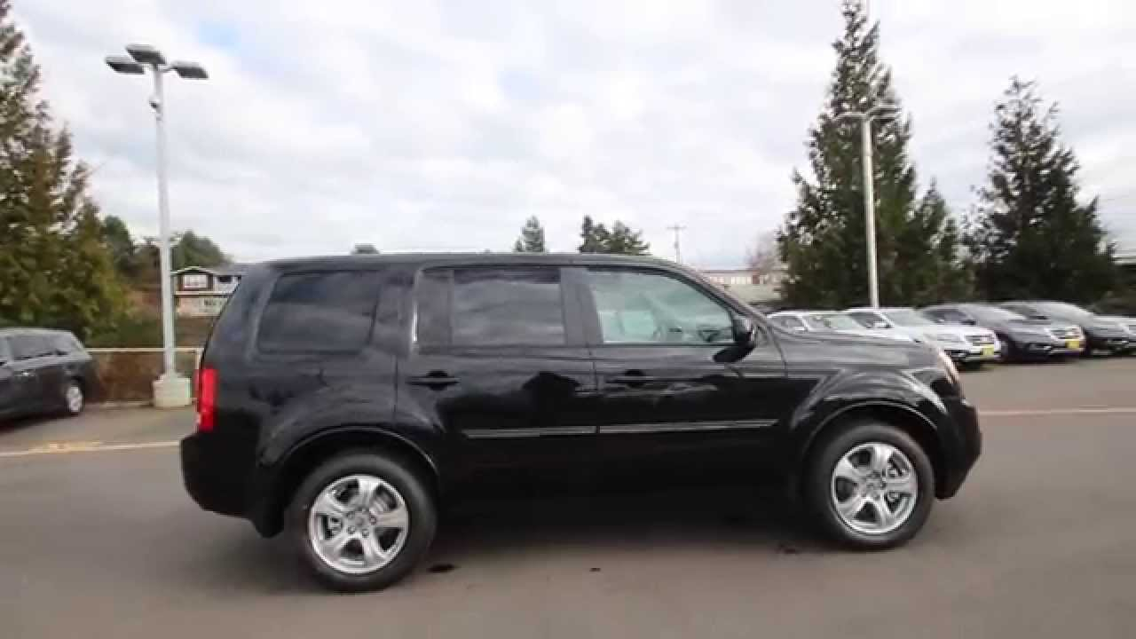 2015 honda pilot ex l crystal black fb051484 seattle renton youtube. Black Bedroom Furniture Sets. Home Design Ideas