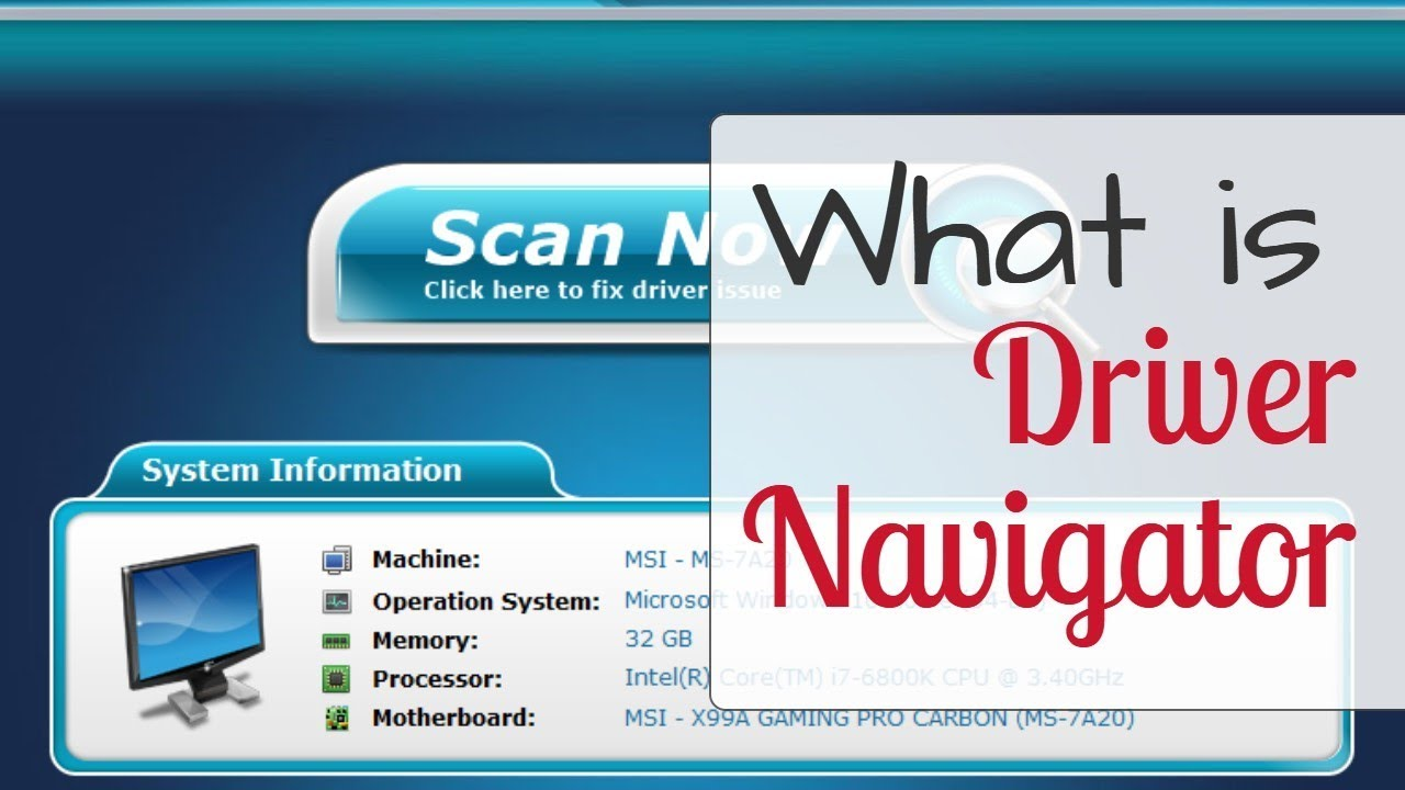 driver navigator license key - for all versions download