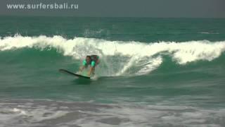 Обучение серфингу в серф школе WINDY SUN