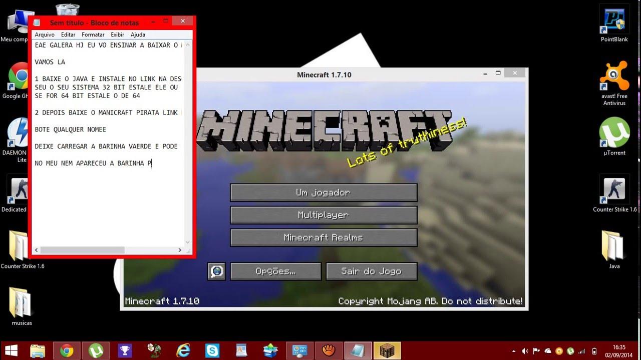 How to get java 64 bit for minecraft windows 7