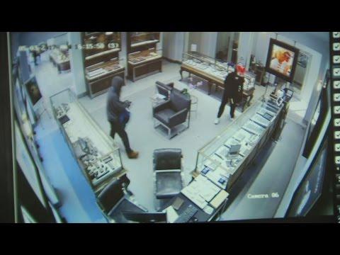 Suveillance Video of $1 Million Diamond Heist