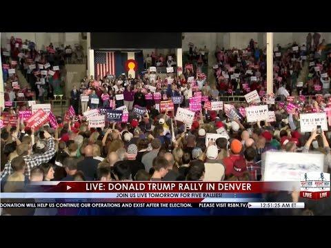 Full Speech: Donald Trump Rally in Denver, CO 11/5/16