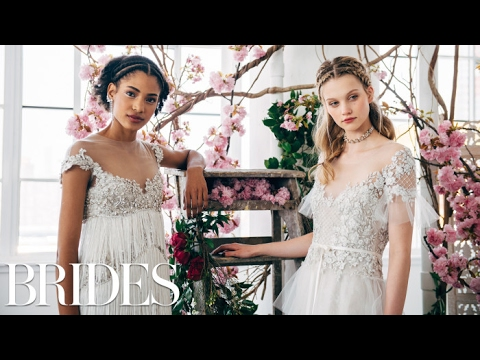 Marchesa's Wedding Dresses | Spring 2018 | BRIDES