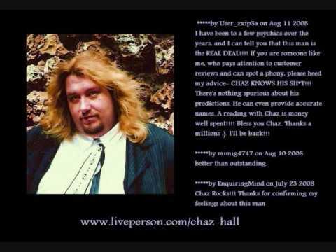 Psychic Reader/Advisor Chaz Hall