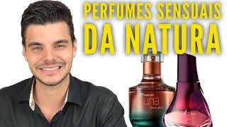 PERFUMES SENSUAIS DA NATURA | FEMININOS | LUNA INTENSO E UNA SENSES