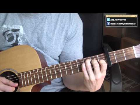 One Direction - The Story Of My Life - Guitar Tutorial (BEGINNERS VERSION)