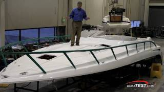 Formula Boats/Yachts Factory Tour 2011 (How Hulls & Decks are Made) - By BoatTest.com
