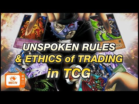The Unspoken Rules & Ethics of Trading in TCG