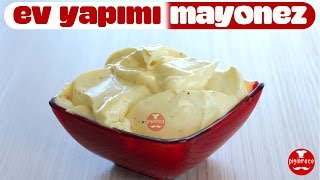 Mayonez en iyi şekilde nasıl yapılır ? | Ev Yapımı Mayonez | Pişirmece