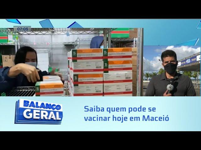 Vacinação em Maceió: Saiba quem pode se vacinar hoje
