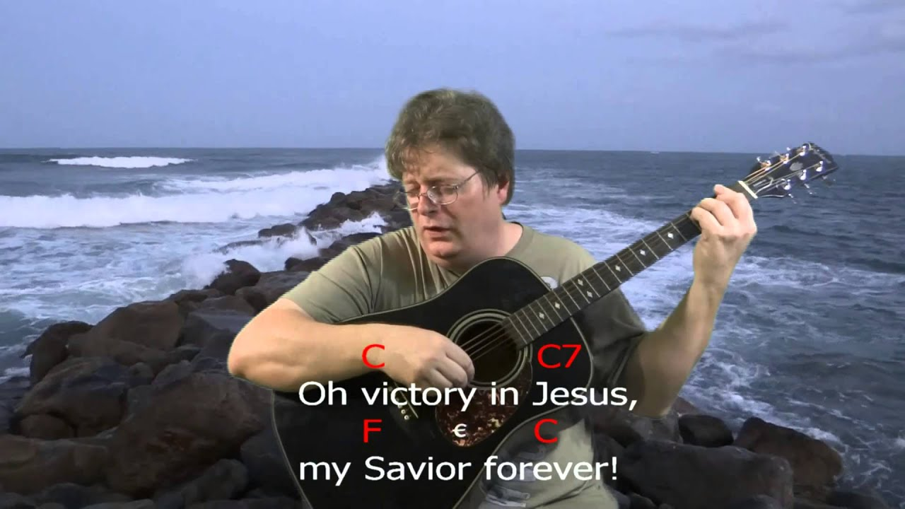 Learn To Play Victory In Jesus Chord Practice Key C Major