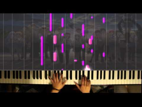 「Angel Beats!」ED - Brave Song (piano solo)