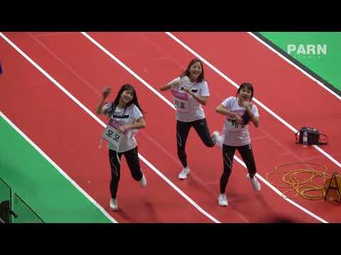 180820 트와이스(TWICE) 아육대 직캠 - DTNA (모모,지효,채영+STRAY KIDS)