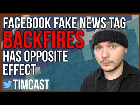 """FACEBOOK'S FAKE NEWS """"DISPUTED"""" TAG BACKFIRES, GETS PULLED."""