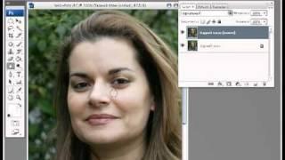 Уроки фотошопа CS3 - Коррекция кожи.avi(В этом уроке немного потренируемся над улучшением кожи лица. Это достаточно быстрый способ, но мы в результ..., 2011-07-16T23:22:04.000Z)