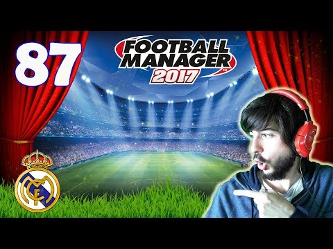 FOOTBALL MANAGER 2017 #87 | DERBI MADRILEÑO: REAL MADRID VS ATLÉTICO DE MADRID