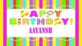 Aayansh Happy Birthday Wishes & Mensajes