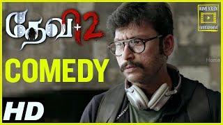 Devi 2 Tamil Movie Comedy Scenes | Kovai Sarala | Prabu Deva | Tamannaah | RJ balaji Comedy