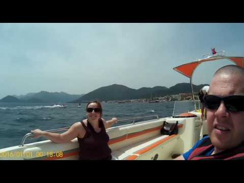 Turkey Holiday May 2016 parasailing, jet ski, barbossa pirate ship and foam party!