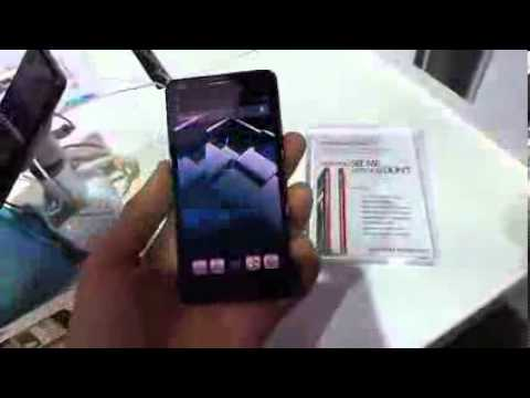 Alcatel One Touch Idol Ultra handson CES 2013 -