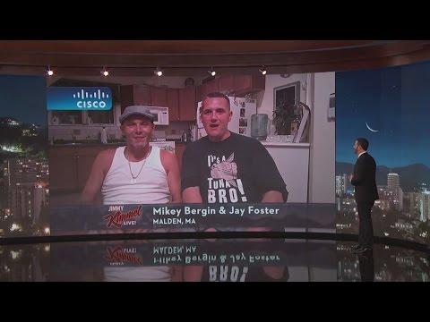 Jimmy Kimmel s an 'amazing' catch by two fishermen