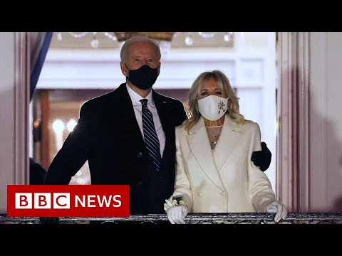 The story of Trump's last day and Biden's inauguration - BBC News