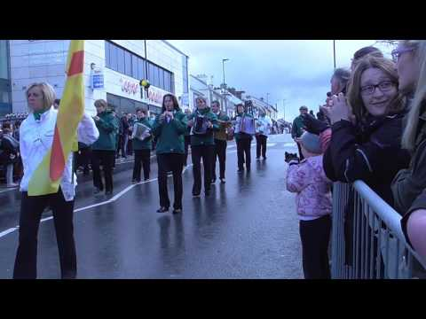 Mountcharles Band, Easter 2016 in Dungloe
