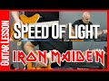 Speed Of Light By Iron Maiden - Guitar Lesson Tutirial