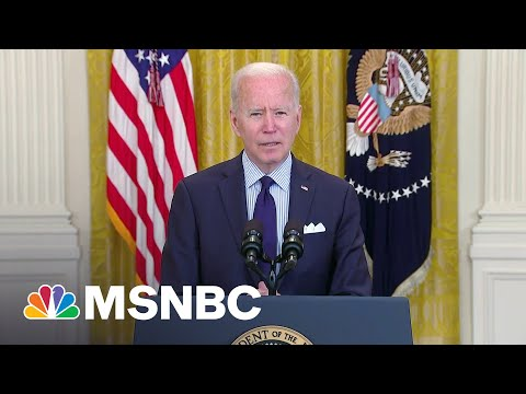 Biden Expects To Miss July 4 Vaccination Goal   MSNBC