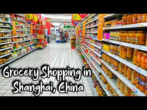 Come Grocery Shopping With Us🛒 | Shanghai, China