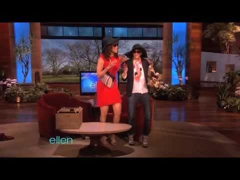 Tyra's Fashion Tips for Ellen!