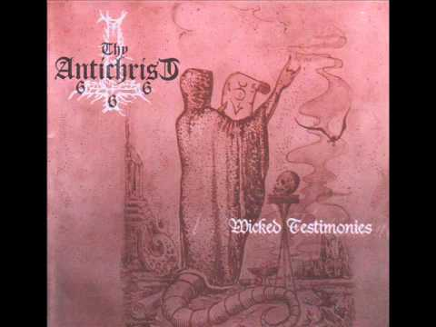 thy antichrist.  fast killer black metal band from colombia.