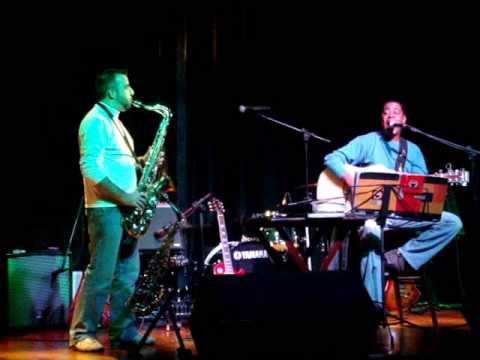 Rodrigo e Galdino no SPLASH tocando som do America