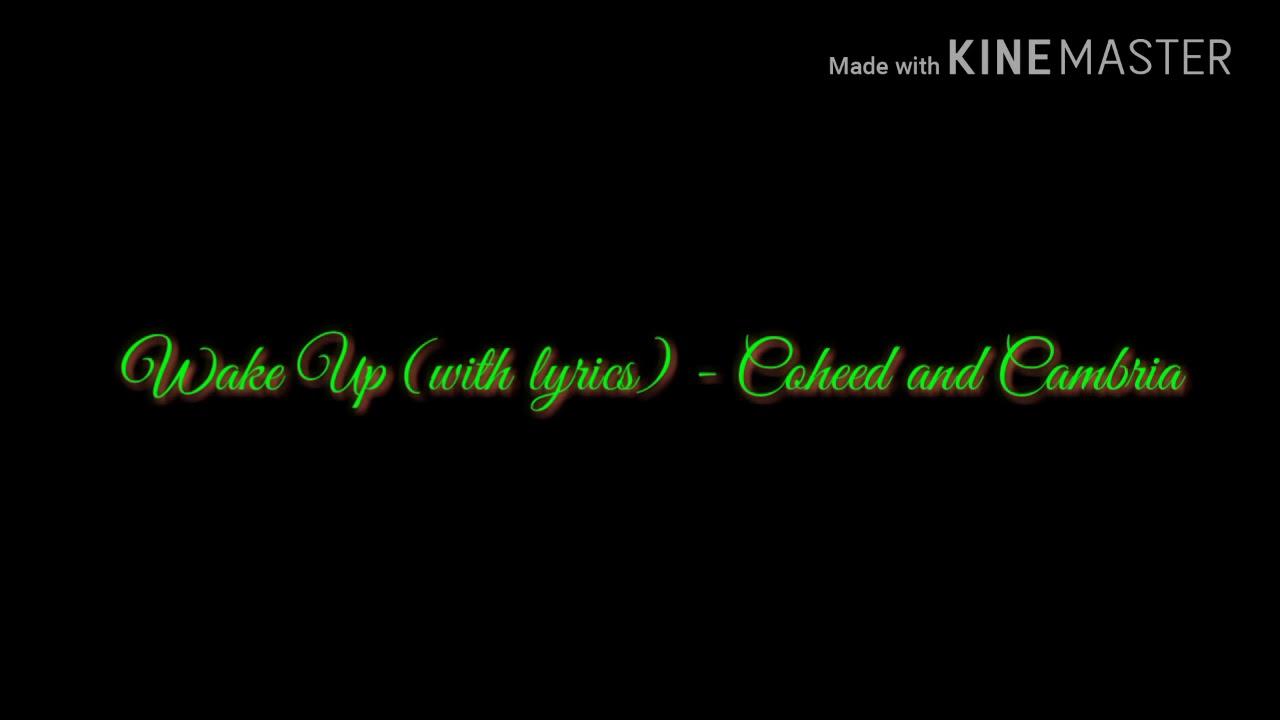 wake up coheed and cambria lyrics
