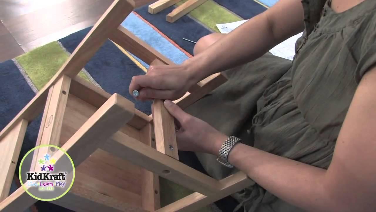 Salon Table Et Chaises Pour Enfant En Bois Kidkraft