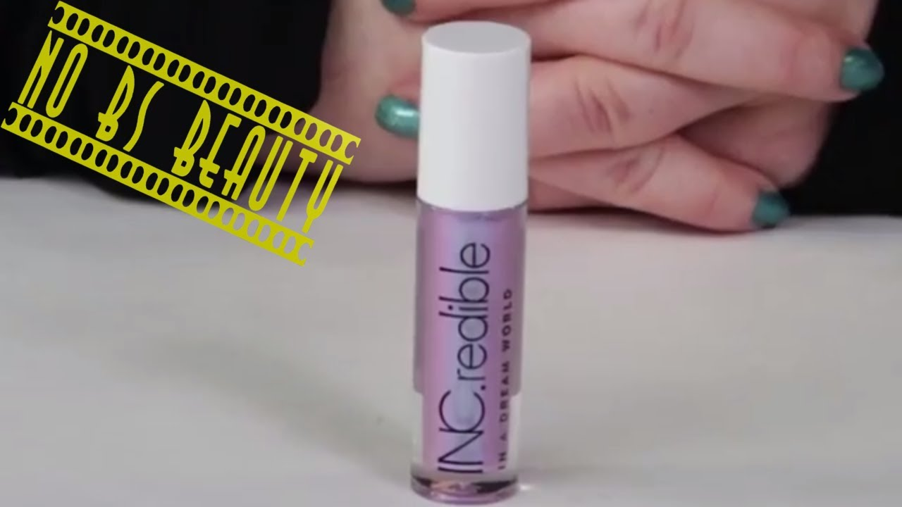 Inc Redible Sephora In A Dream World Iridescent Sheer Lip Gloss Review And Swatches Youtube