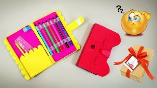 How to make pencil case | DIY Pencil Case | Crafts Junction